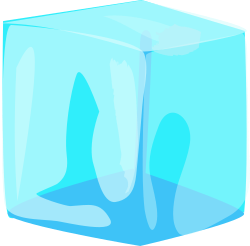 Another ice block