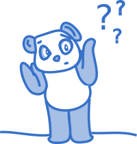 Questioning panda